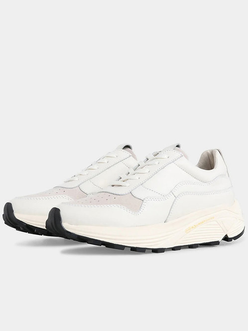 Garment Project - Bailey Runner White Leather