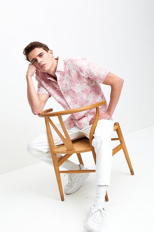 The GoodPeople - Speed Short Sleeve Linnen Shirt