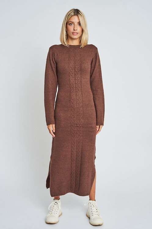 Native Youth - Adley Knitted Midi Dress
