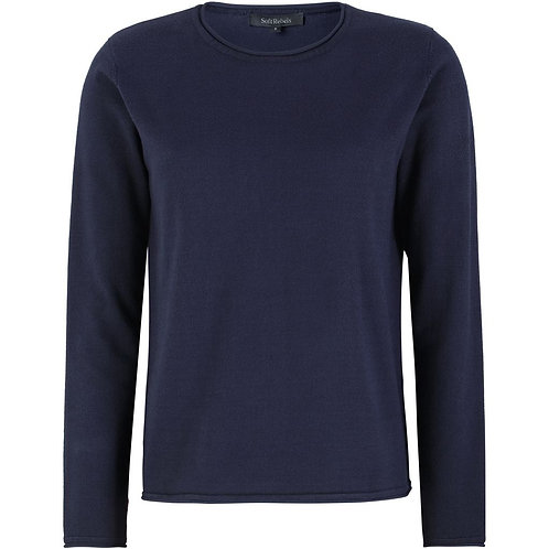 Soft Rebels - SRMarla O-Neck Knit Roll Edge
