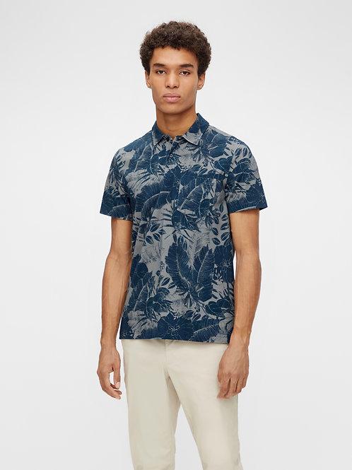 J. Lindeberg - Brand Printed Polo Shirt