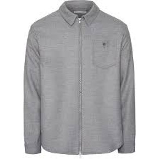 KnowledgeCotton Apparel - Pine Brushed Overshirt