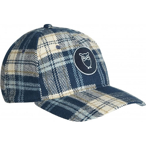 KnowledgeCotton Apparel - PACIFIC Checked Cap