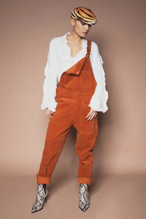 Iconic 27 - Corduroy Overalls Jumpsuit