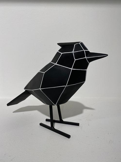 Vogel Groot met streep