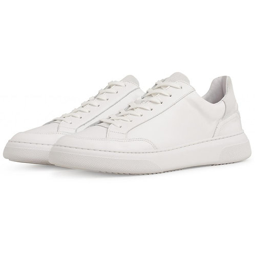 Garment Project - Off Court White Leather / White Suede