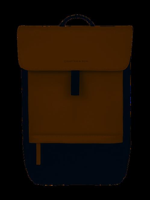 Kapten & Son - Fyn Cream Black Backpack