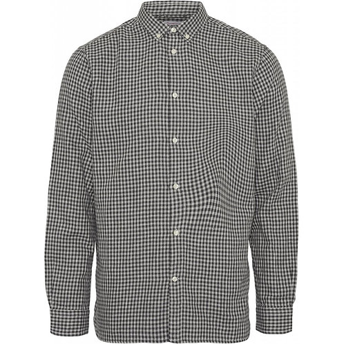 KnowledgeCotton Apparel - Casual Fit Double Layer Checked Shirt