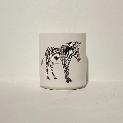 Zebra Bloempot