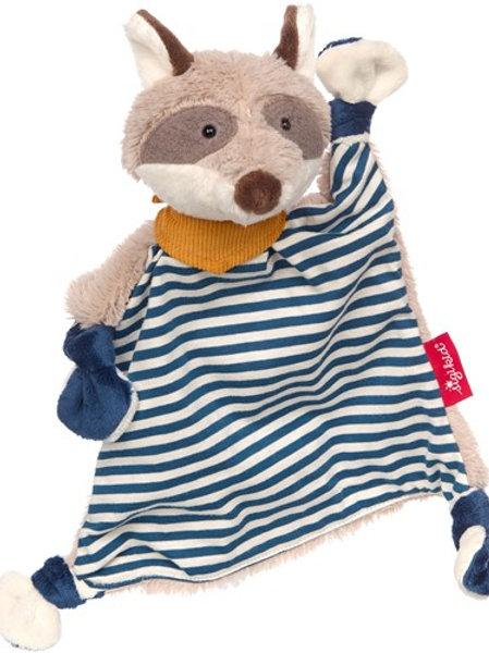Sigikid - Knuffeldoekje Wasbeer Blauw