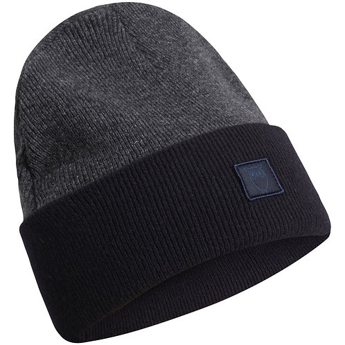 KnowledgeCotton Apparel - LEAF Colored Organic Wool Beanie