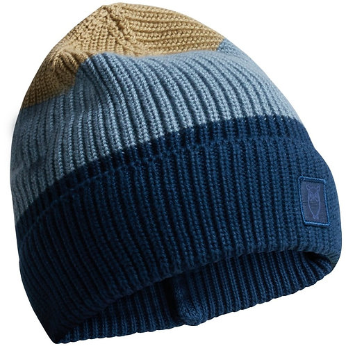 KnowledgeCotton Apparel - LEAF Colored Ribbing Hat