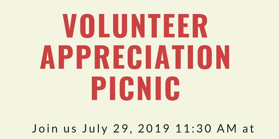 History Center Volunteer Appreciation Picnic