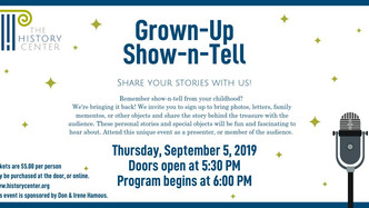 Grown Up Show-n-Tell
