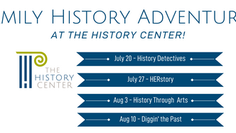 Family History Adventures at The History Center!