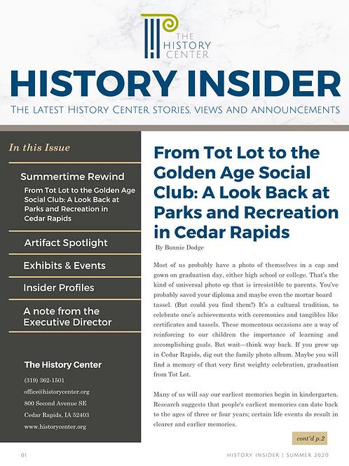 History Insider (Summer 2020 Edition)