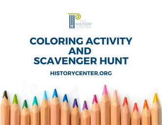 Printable Coloring Activity and Scavenger Hunt for Students