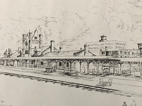 """Union Station"" Large Print"