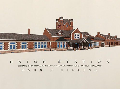"""Union Station"" Color Print"