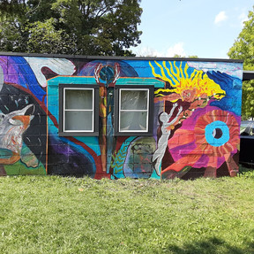 Transitional Phases Mural