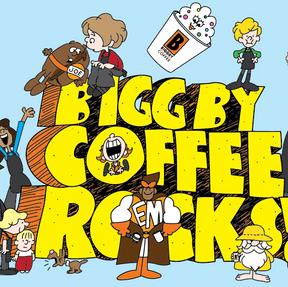 BIGGBY COFFEE Rocks!