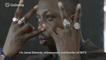 Jamal Edwards MBE Meets...   GODADDY