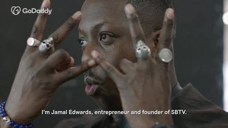 Jamal Edwards MBE Meets... | GODADDY