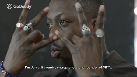 Jamal Edwards MBE Meets... | GODADDY