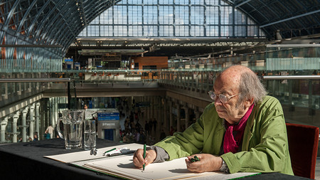 Quentin Blake | ST PANCRAS INTERNATIONAL