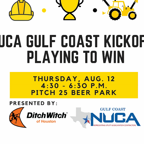 NUCA Gulf Coast Kickoff: Playing to Win, presented by Ditch Witch of Houston