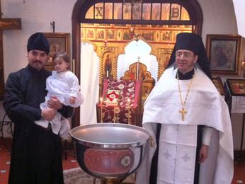 Крещение Ани Пошотян