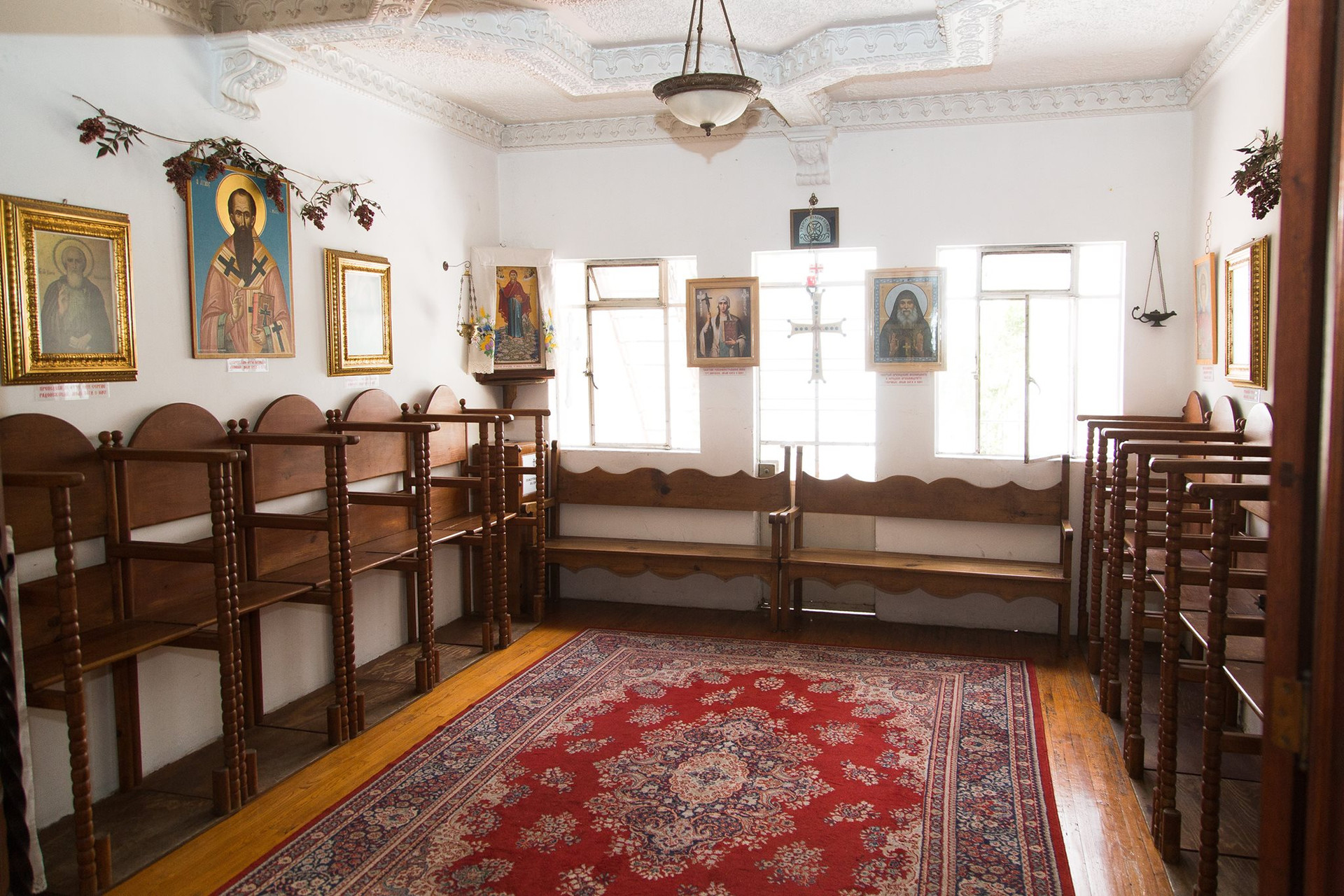 Интерьер монастыря