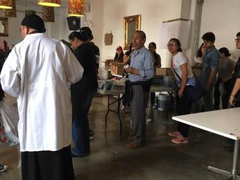 Свято-Троицким монастырем была оказана помощь жертвам землетрясения в г.Мехико