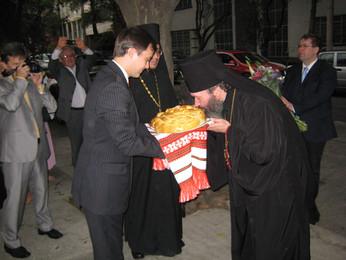 Архиепископ Юстиниан прибыл с визитом в русскую православную общину в Мексике