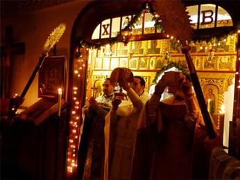Празднование Православного Рождества в Мексике