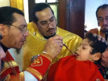 Крещение в Русской Православной Церкви в Мексике