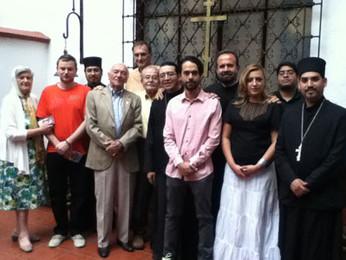 Визит сербского священнослужителя