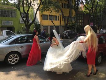 Украинская свадьба: венчание Юлии и Омара