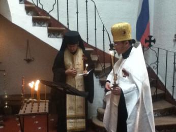 Празднование Дня Победы в Русской Общине