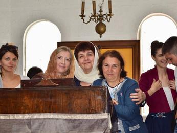 """Сербский хор """"Бранко"""" в нашем монастыре"""