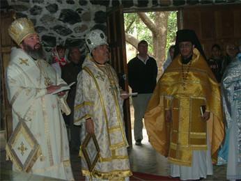 Участие нашего прихода в визите в Мексику Его Высокопреосвященства Владыки Юстиниана, Архиепископа Н