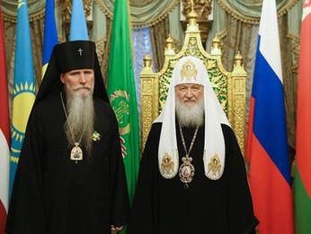 Архиепископ Сан-Франциский и Западно-Американский Кирилл награждён орденом Св.Серафима Саровского