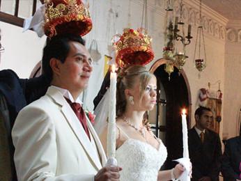 Свадьба Хосе Мануэля Мартинеса и Олены Мухи