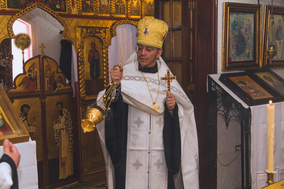 Схиархимандрит Нектарий, настоятель монастыря