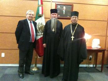 Второй визит в Мексику Архиепископа Кирилла