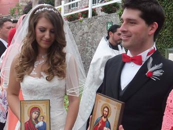 Венчание Регины Журавлёвой и Серхио Киньонес