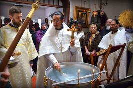 Освящение воды в праздник Крещения Господня
