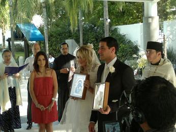 Свадьба Хорхе Рэди и Валентины Навротска в г.Монтеррей, штат Нуэво Леон