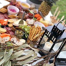 Grazing platter for pop up picnic in Canberra