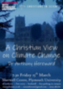 A Christian View on Climate Change Poster